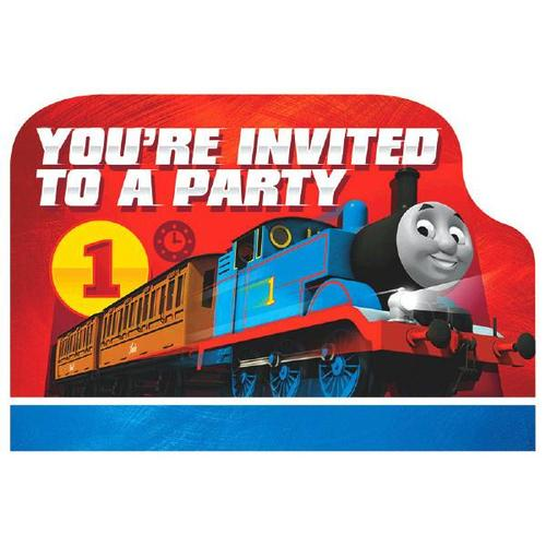 Thomas the Tank Engine Invite - Amscan