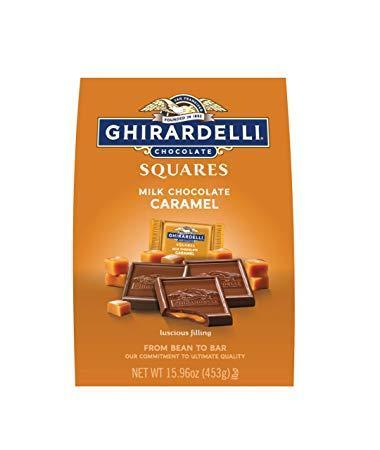 Sq Mk/Caramel Xl Bag - GHIRARDELLI CHOCOLATES
