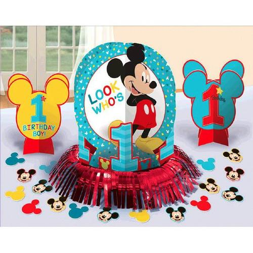 Mickey Fun to Be One Table Decorating Kit - Amscan