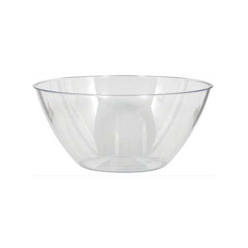 Plastic Clear Large Bowl 5qt - Amscan