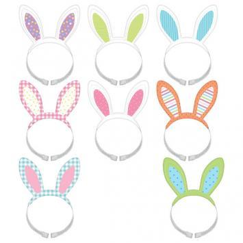Easter Multi Pack Headbands 8ct