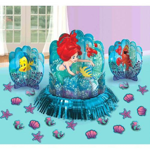 Ariel Dream Big Table Deco Kit - Amscan