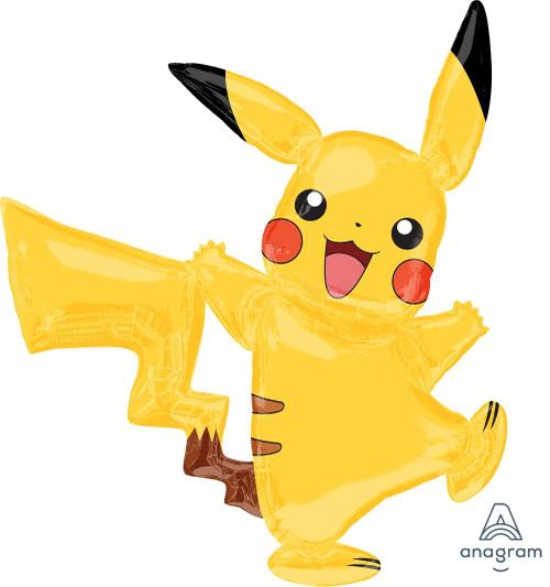 "Airwalker Pikachu 57"" Balloon - Anagram"
