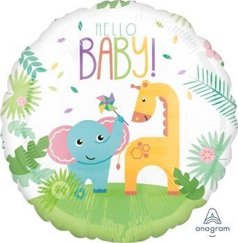 "Supershape Fisher Price Hello Baby 28"" Balloon - Anagram"