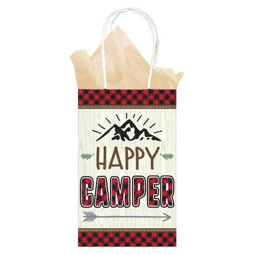 Little Lumberjack Birthday Paper Bags 8ct - Amscan