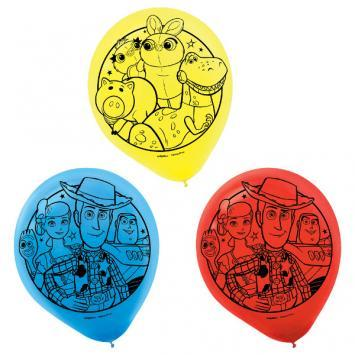 Toy Story 4 Latex Balloons 6ct - Amscan