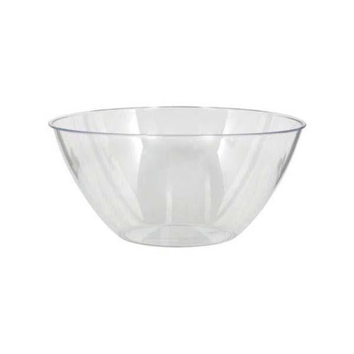 Plastic Clear Medium Bowl 2qt - Amscan