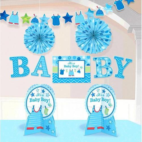 Shower Boy Room Decorating Kit