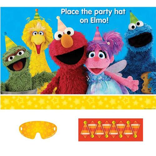 Sesame Street Party Game - Amscan
