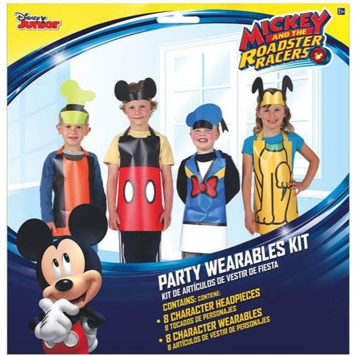 Mickey On The Go Party Wearables Kit - Amscan