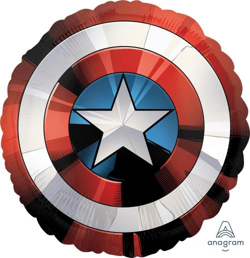 "Supershape Avengers Shield 28"" Balloon - Anagram"