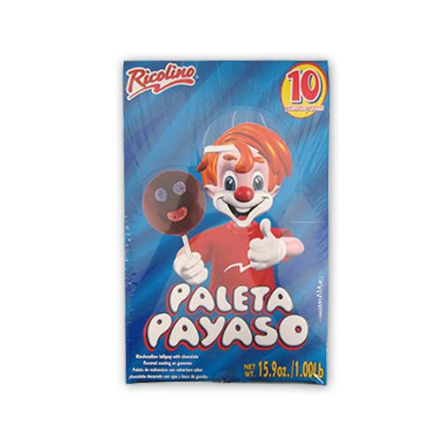 Paleta Payaso Display 12/10 - Ricolino