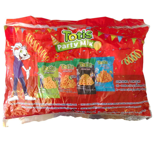 Totis Snack Party Mix - Totis