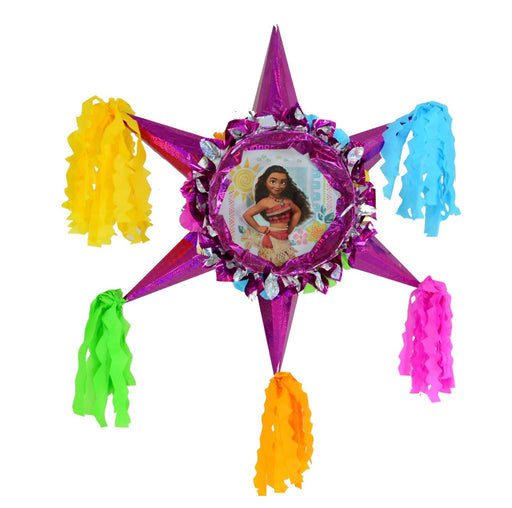 Moana - 3D Star Piñata Staple Free - Piñata District