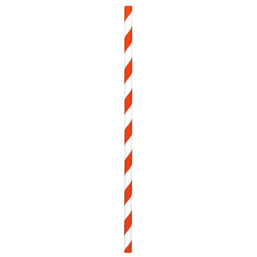 Paper Straws Orange Peel 80ct - Amscan