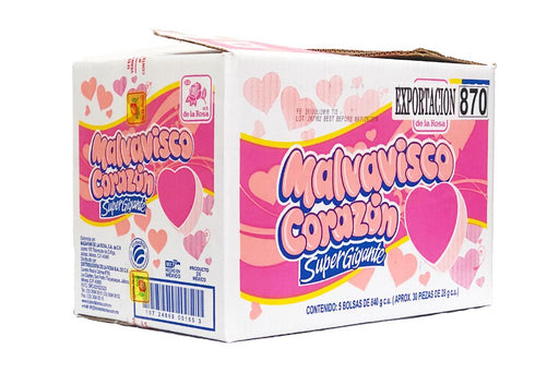 Marshmallow Giant Heart 5/840 - Case - de la Rosa
