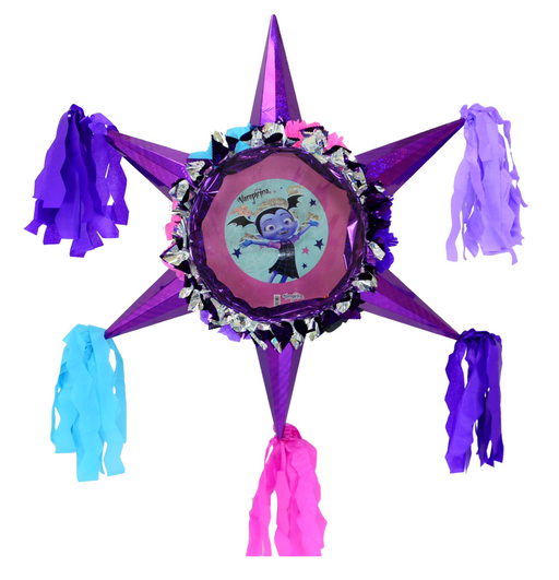3D Star Piñata Staple Free - Vampirina - Piñata District