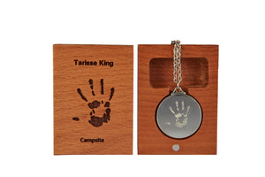 TK Pendant | Campsites | 25mm