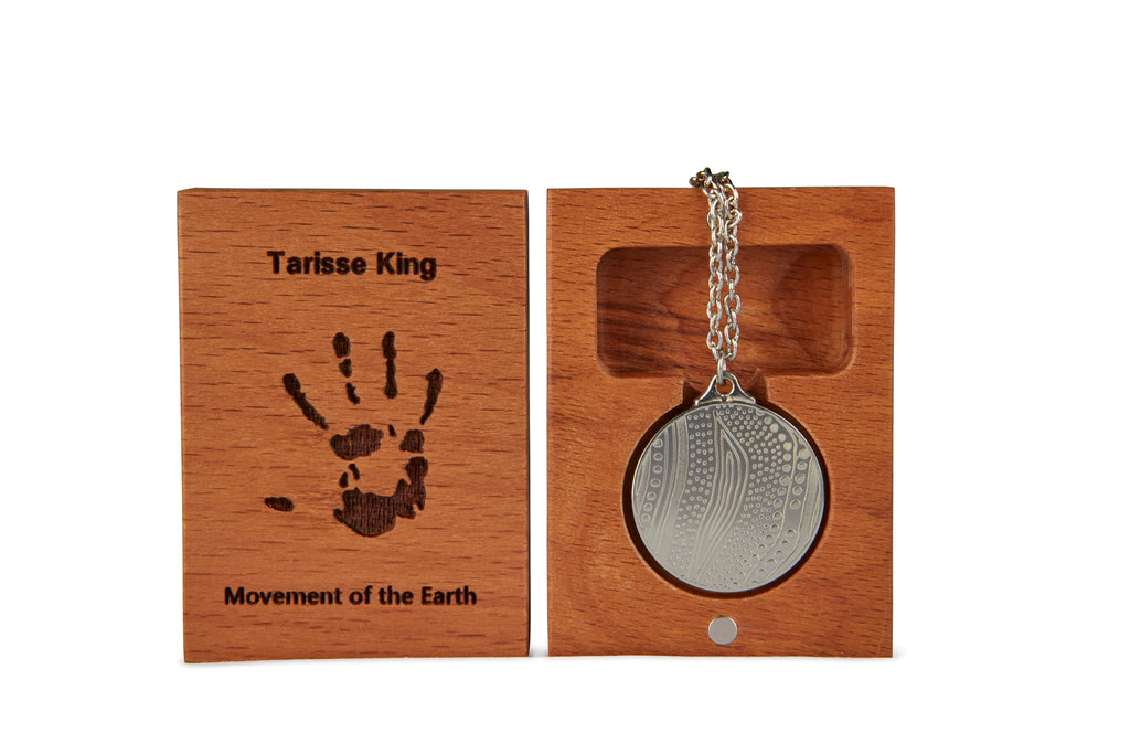 TK Pendant | Movement of the Earth | 25mm