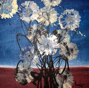 'Wild Flowers'<br>Rowdy Warren<br>31x31cm