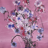 'Wild Flowers'<br>Rowdy Warren<br>30x30cm