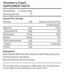 Nutratech | Grass Fed NZ Whey Protein | 5Ib