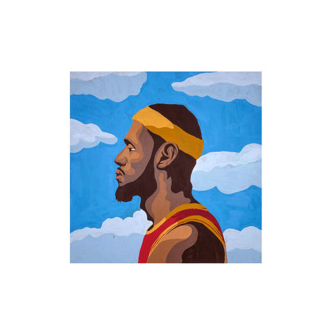 Original LeBron James Coming Home Painting (2014)