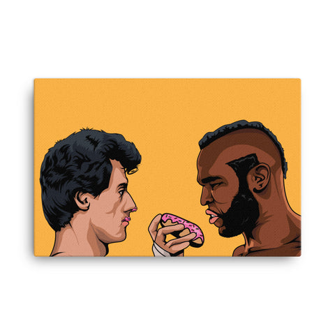 Donut Balboa Canvas