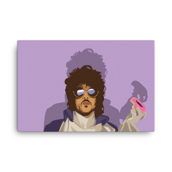 Prince Tribute Canvas