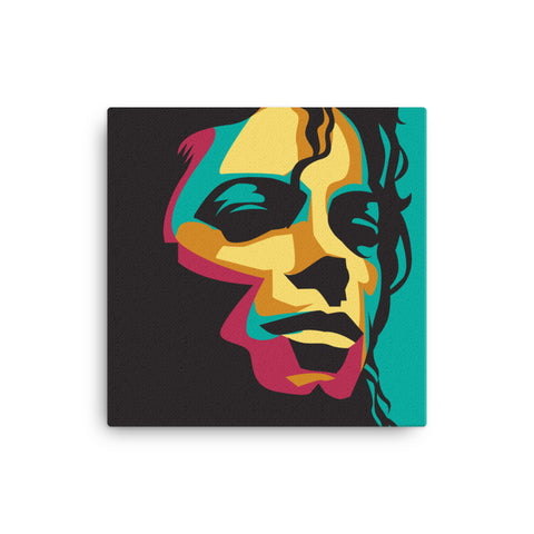 The King of Pop Canvas