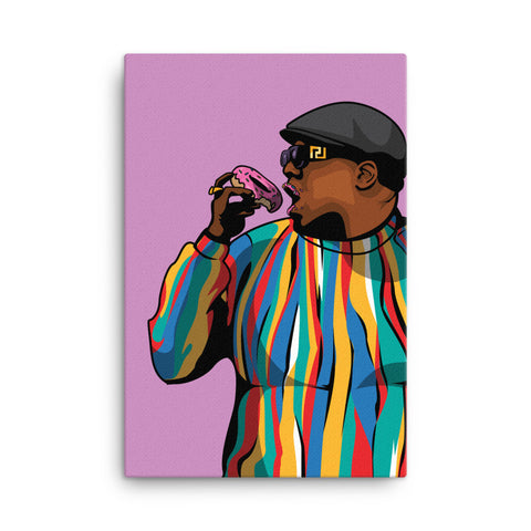Notorious Donut Canvas