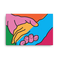 Helping Hands Canvas