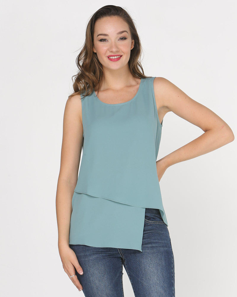 Angelina Sleeveless Top