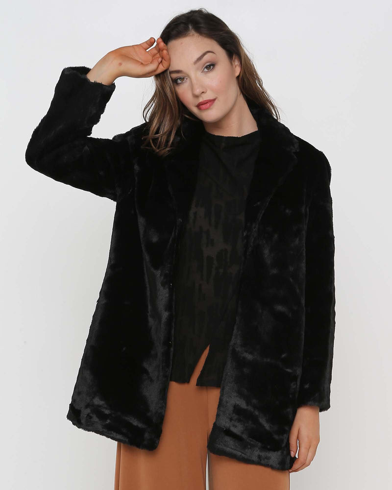 Unreal Faux Fur Coat