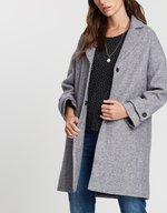 Belted Back Wool Trench