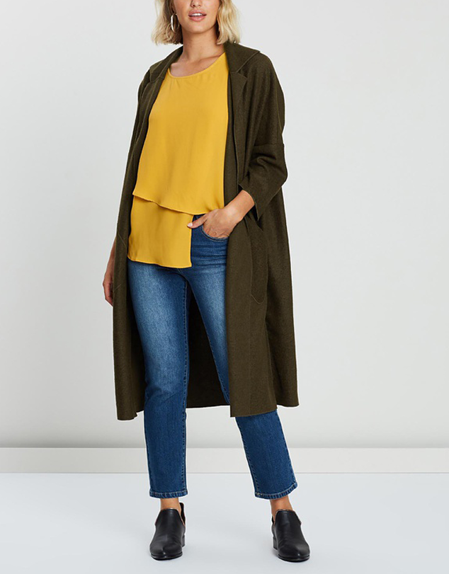 Uptown Oversized Robe Coat
