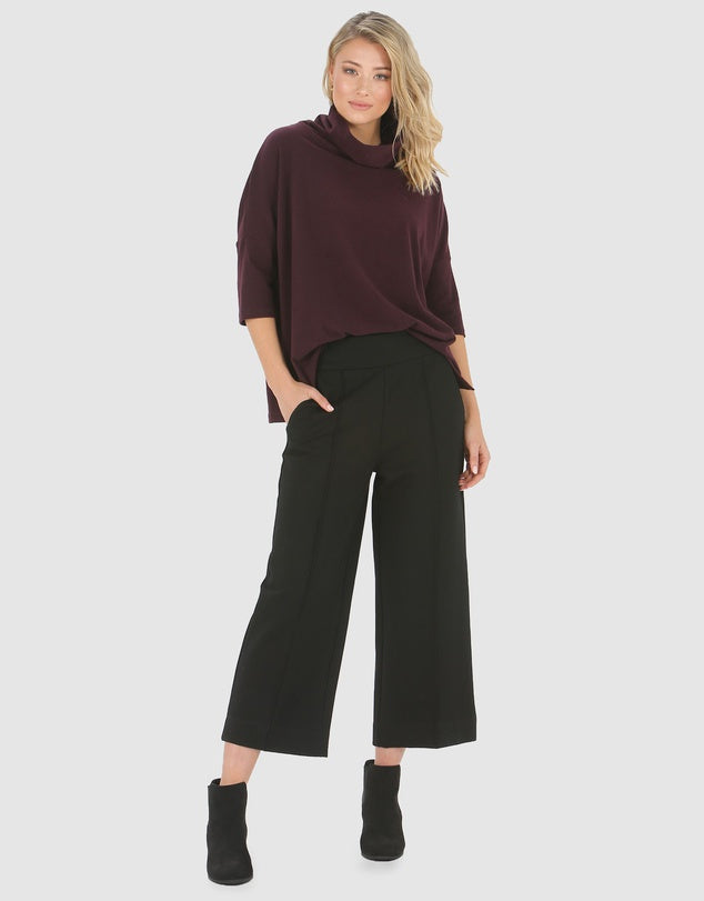 Wide Leg Pants-Pants-Privilege-Black-8-Lincoln St. Clothing