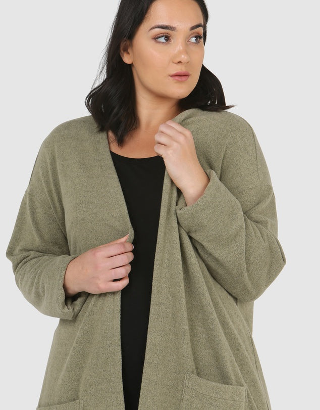 Madison Long Line Cardi