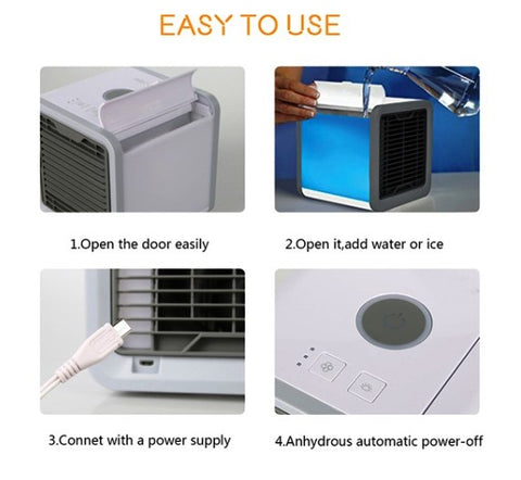 Easy to use AC unit