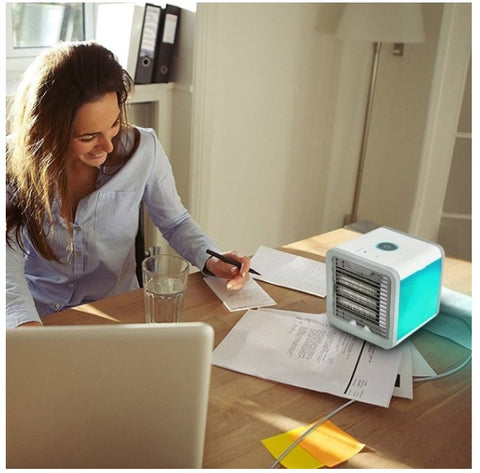 Small portable air conditioner for office