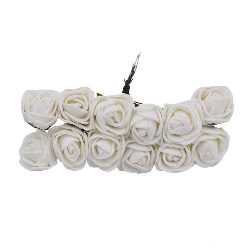 White roses with 5 minute crafts for barbies