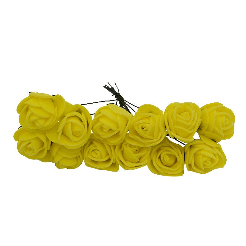 Yellow roses for 5 minute crafts