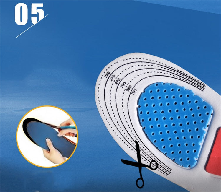 Gel shoe inserts - foot insoles