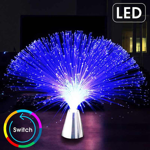 Best LED Fiber Optic Night Lamp | Multicolor LED Fiberglass Technology