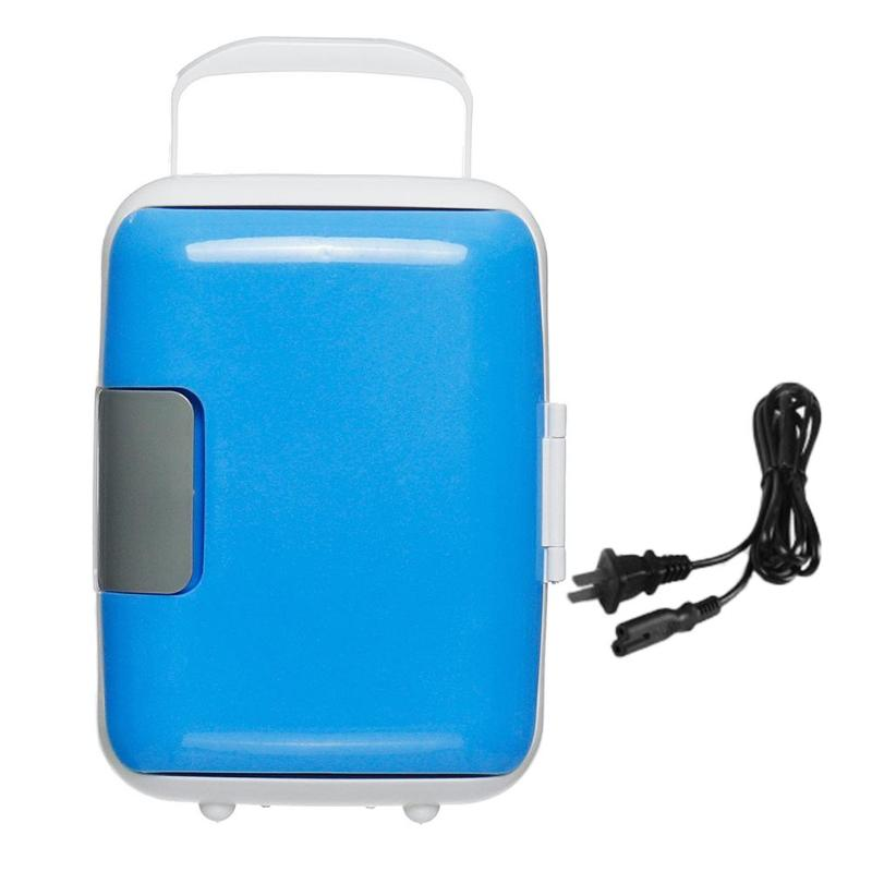 Mini refrigerator for cooling food and drinks