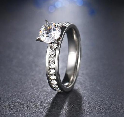Beautiful Stainless Steel Ring For Women