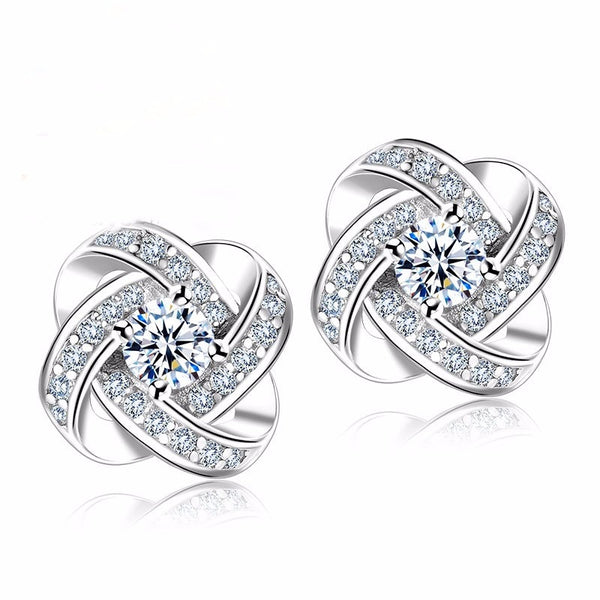 Beautiful 925 Sterling Silver Earrings