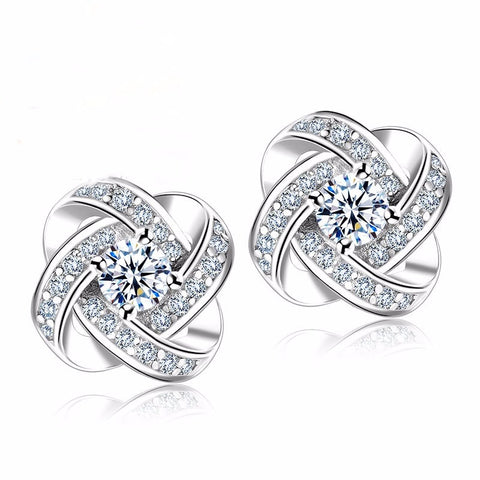 Cubic Zirconia | Silver Earrings for Women