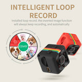 Mini Full HD 1080p Security Camera with Infrared Night Vision