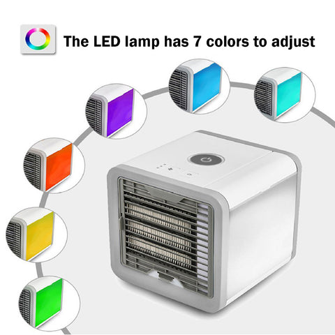 Small Portable Air Conditioner | 7 Colors | For Office & Home